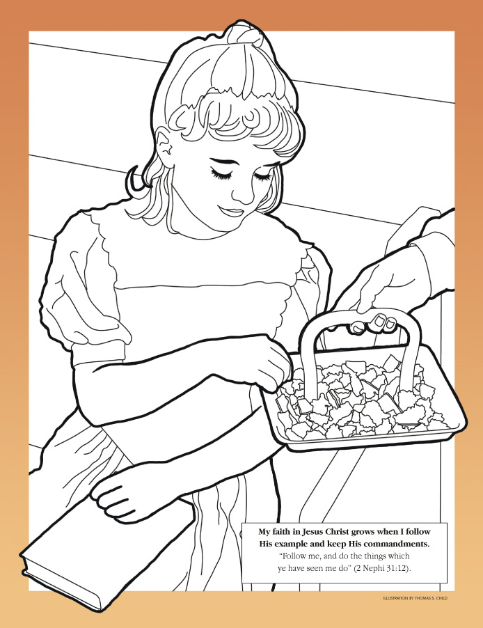 694x902 The Sabbath Is A Day Of Worship Coloring Page