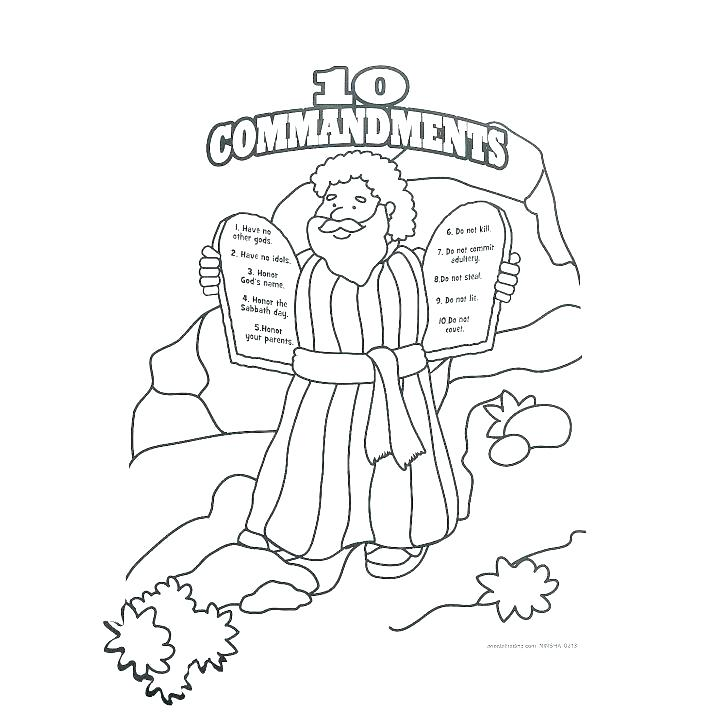 728x728 The Sabbath Is A Day Of Worship Coloring Page Ten Commandments