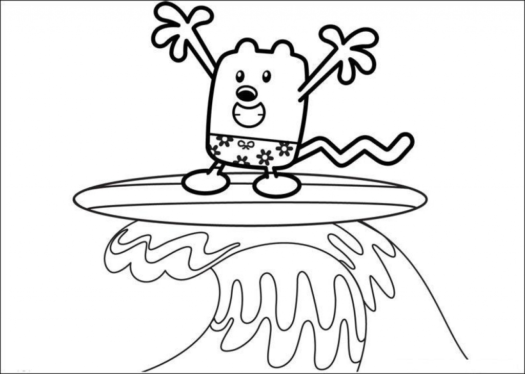 1024x731 Wow Wow Wubbzy Coloring Pages To Print