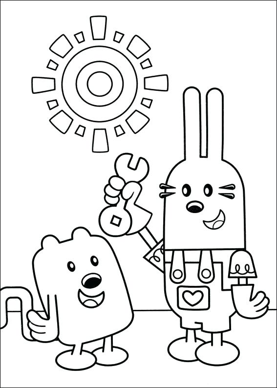 567x794 Wow Wow Wubbzy Coloring Pages Wow Wow Coloring Pages Wow Wow