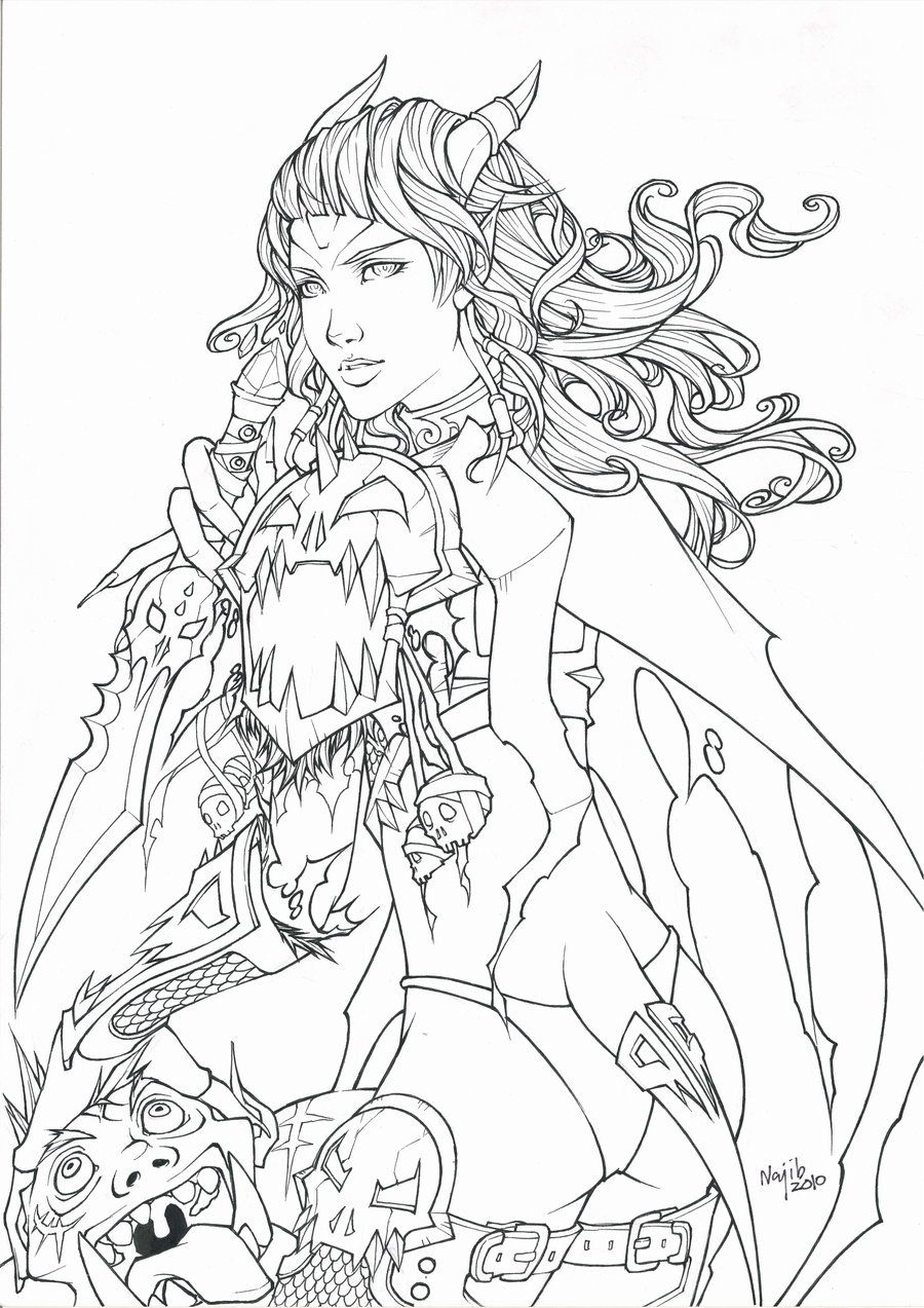 900x1273 Get Draenei World Of Warcraft Coloring Pages Fantasy Dragons