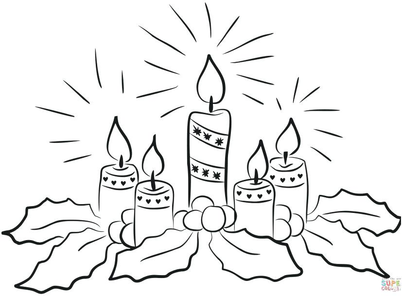 827x609 Advent Coloring Pages Advent Calendar Colouring Page Free