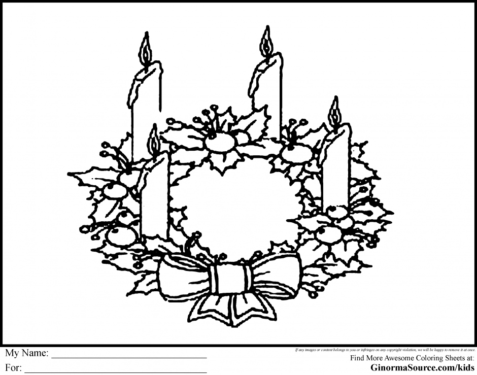940x739 Advent Wreath Coloring Page Beautiful Advent Wreath Coloring Pages