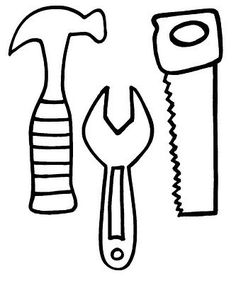 236x283 Hammer, Saw And Wrench