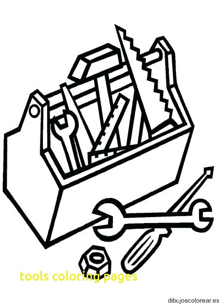 450x623 Tools Coloring Pages With Tool Coloring Pages Doctor Tools