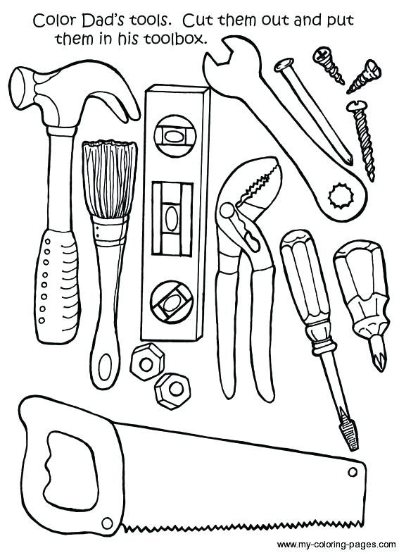 567x785 Tools Coloring Sheet Doctor Bag Coloring Page Best Doctor Tools
