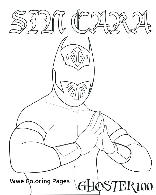 640x800 Wrestling Coloring Pages Belt Coloring Pages Wrestling Coloring
