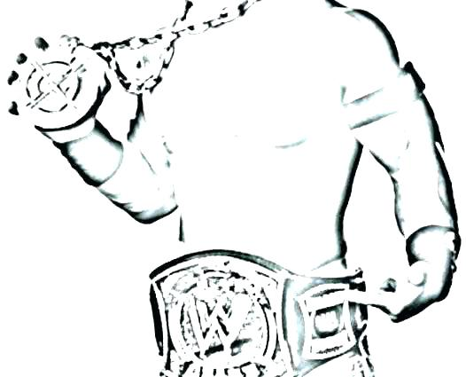 526x425 Wrestling Coloring Pages Undertaker Coloring Pages Championship
