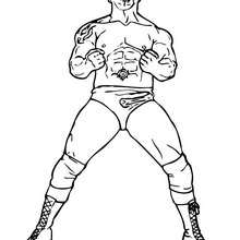 220x220 Wrestling Coloring Pages