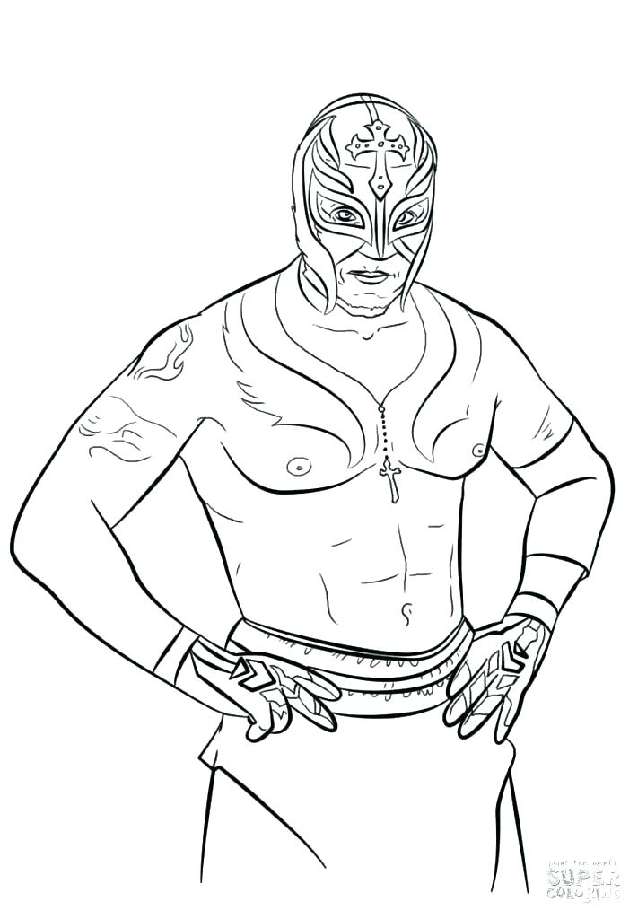 711x1024 Wrestler Coloring Pages Wrestling Coloring Book Coloring Books