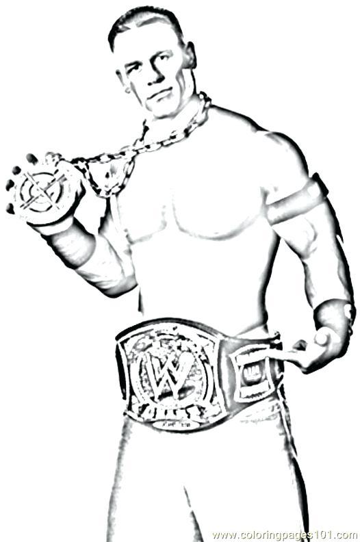 526x792 Wrestling Coloring Pages Wrestler Coloring Pages Wrestler Jump