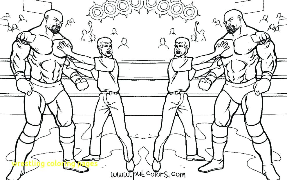 989x621 Roman Reigns Coloring Sheets Wrestling Coloring Pages With Wwe