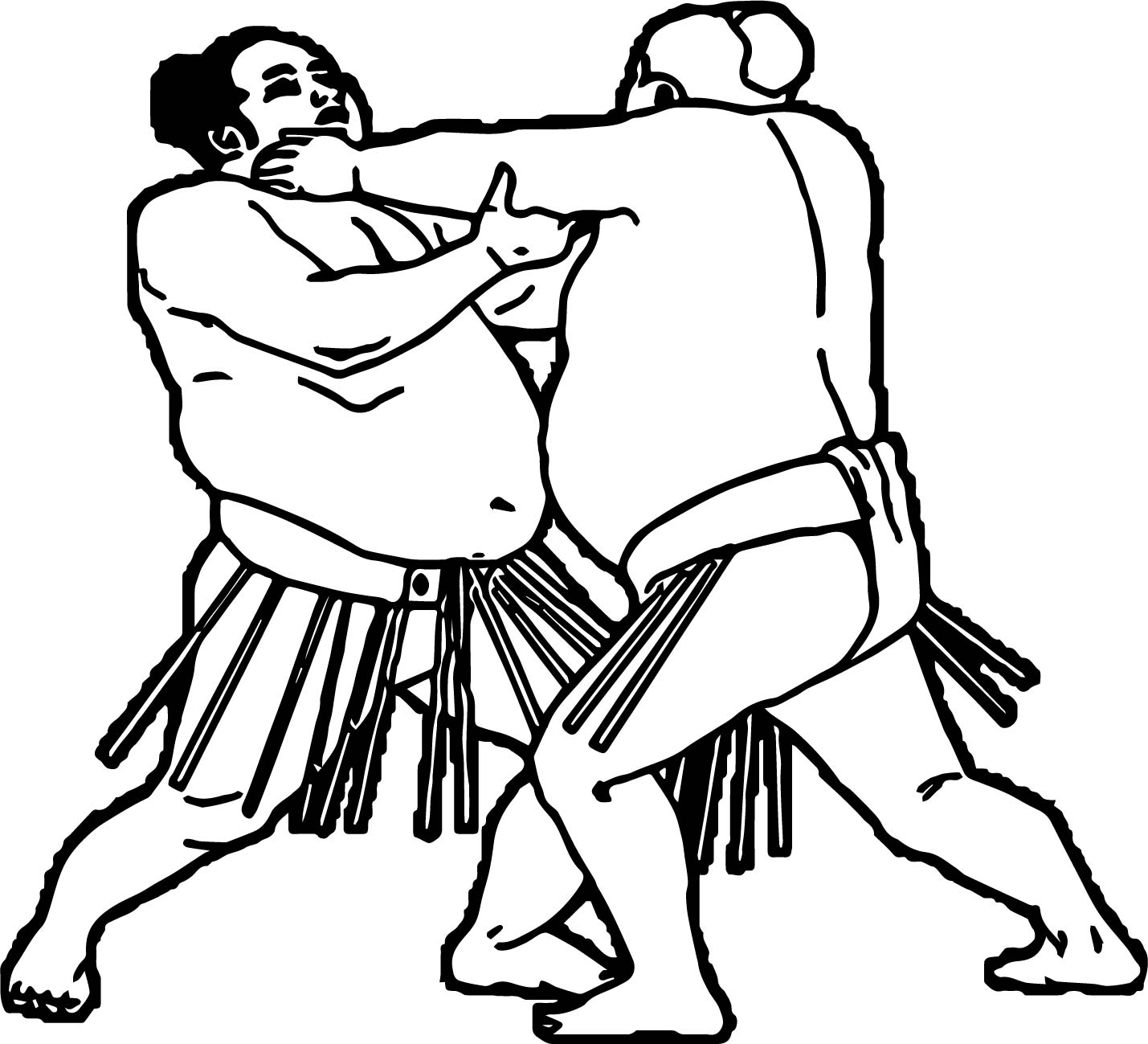 1429x1299 Sport Fight Graphics Sumo Wrestling Coloring Page Wecoloringpage