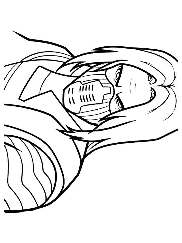 750x1000 Soldier Coloring Pages Winter Soldier Captain Coloring Pages
