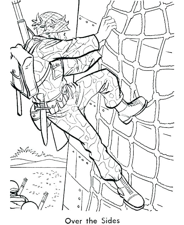 600x734 World War Coloring Pages Printable Free Printable World War