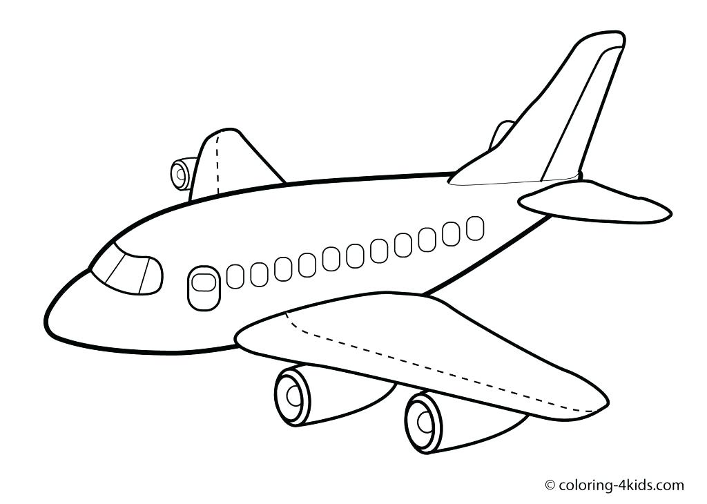 1024x730 Printable Airplane Coloring Pages Printable Airplane Coloring