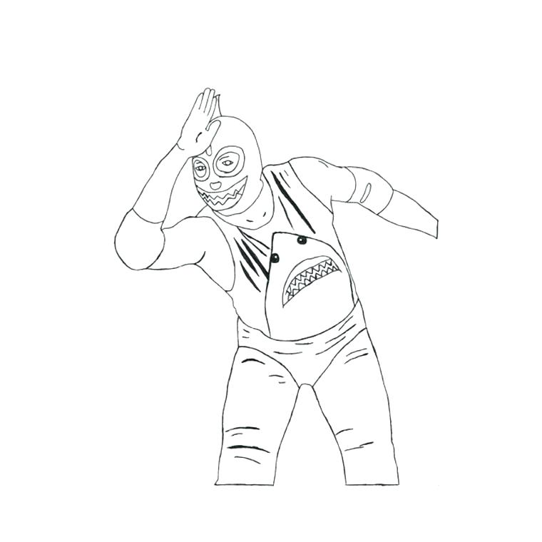 Wwe Coloring Pages Roman Reigns At Getdrawings Com Free For