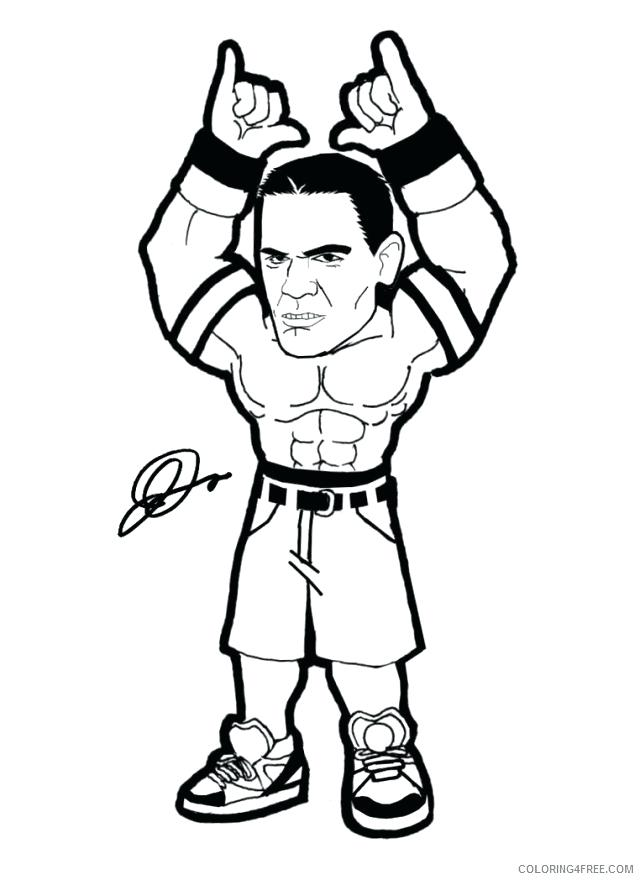 640x880 John Coloring Pages For Kids John Coloring Pages For Kids Wwe John