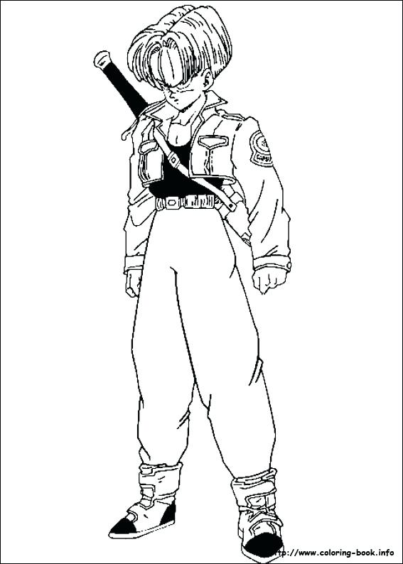 567x794 Dragon Ball Z Coloring Pages On Coloring Dragon Ball Vegeta Super