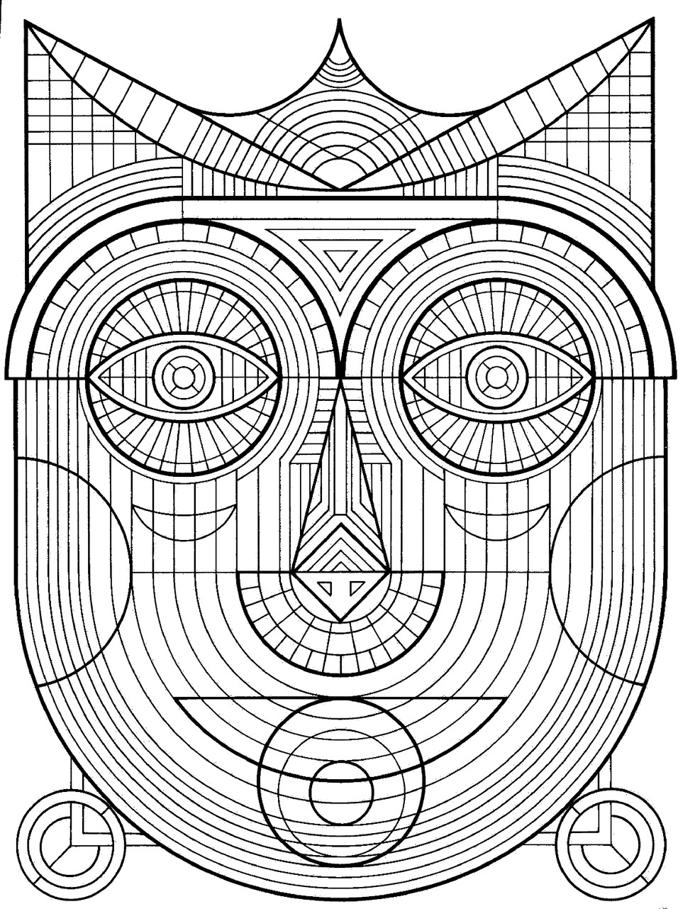 980x1281 These Printable Mandala And Abstract Coloring Pages Relieve Stress