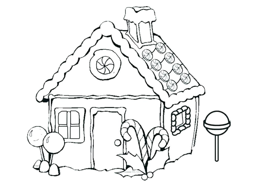 1024x723 Gingerbread Houses Coloring Pages Vanda