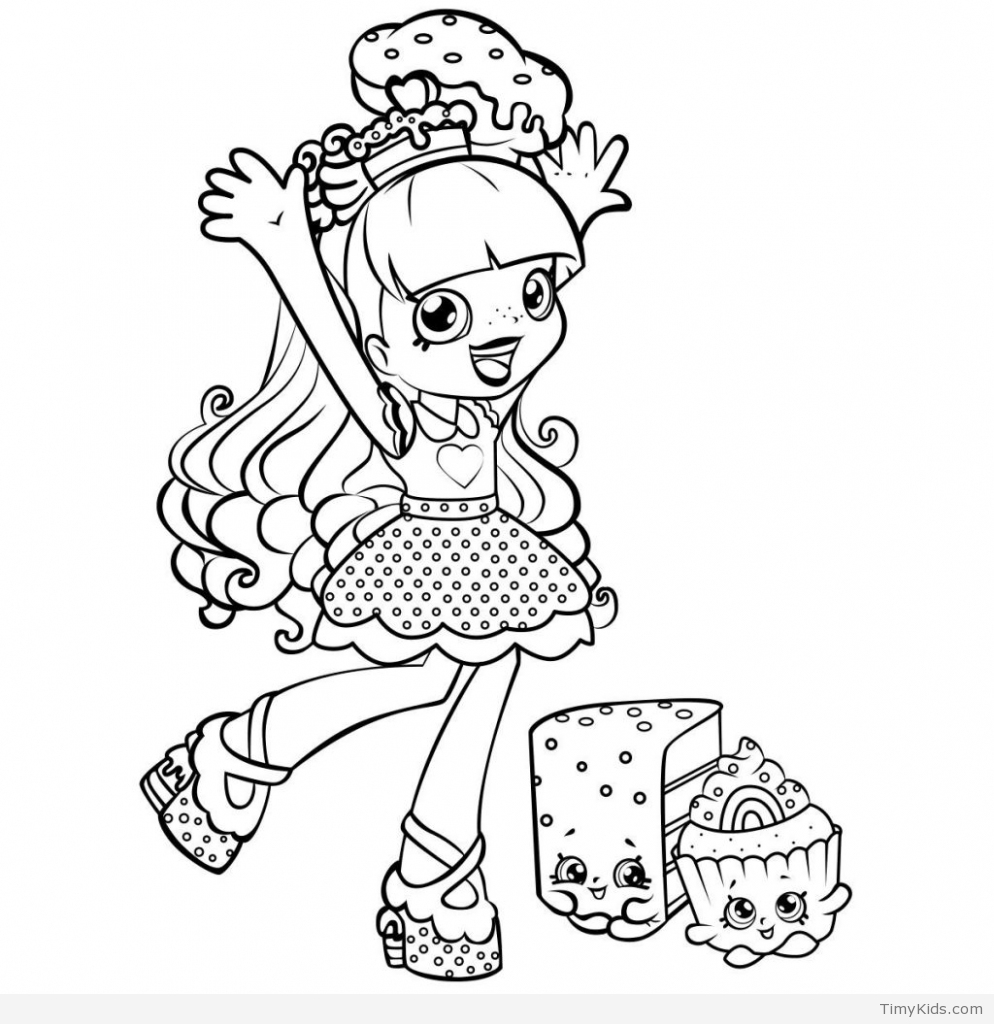 994x1024 Shopkins Coloring Pages For Kids New Coloring Sheets
