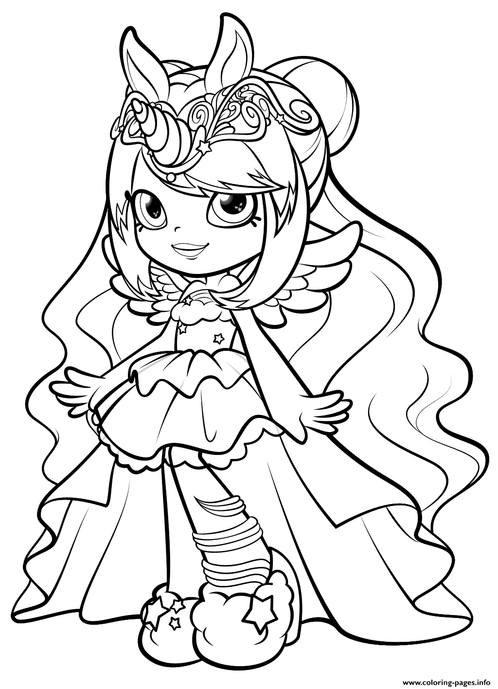 Www Shopkins Coloring Pages at GetDrawings | Free download