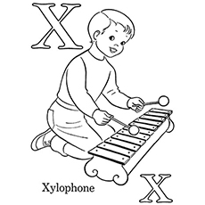 230x230 Top Free Printable Letter X Coloring Pages Online
