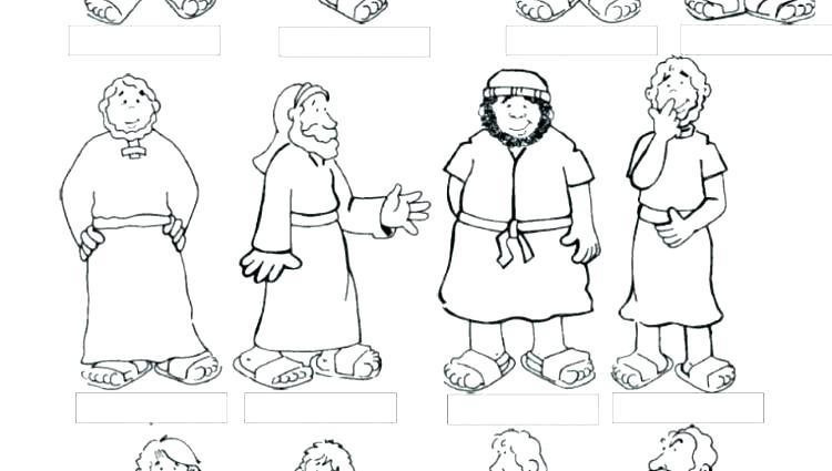 750x425 X Coloring Page And The Disciples Coloring Page Also X Coloring X
