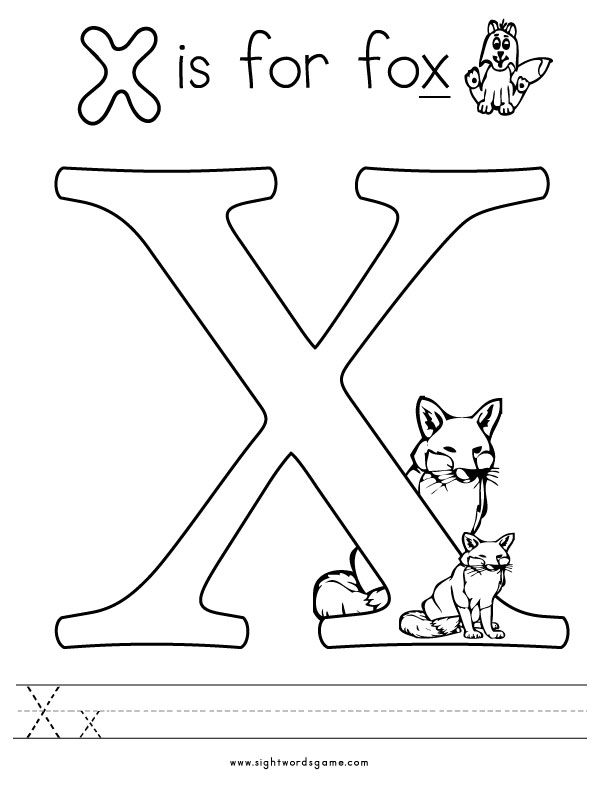 612x790 X Coloring Pages X Coloring Pages Free