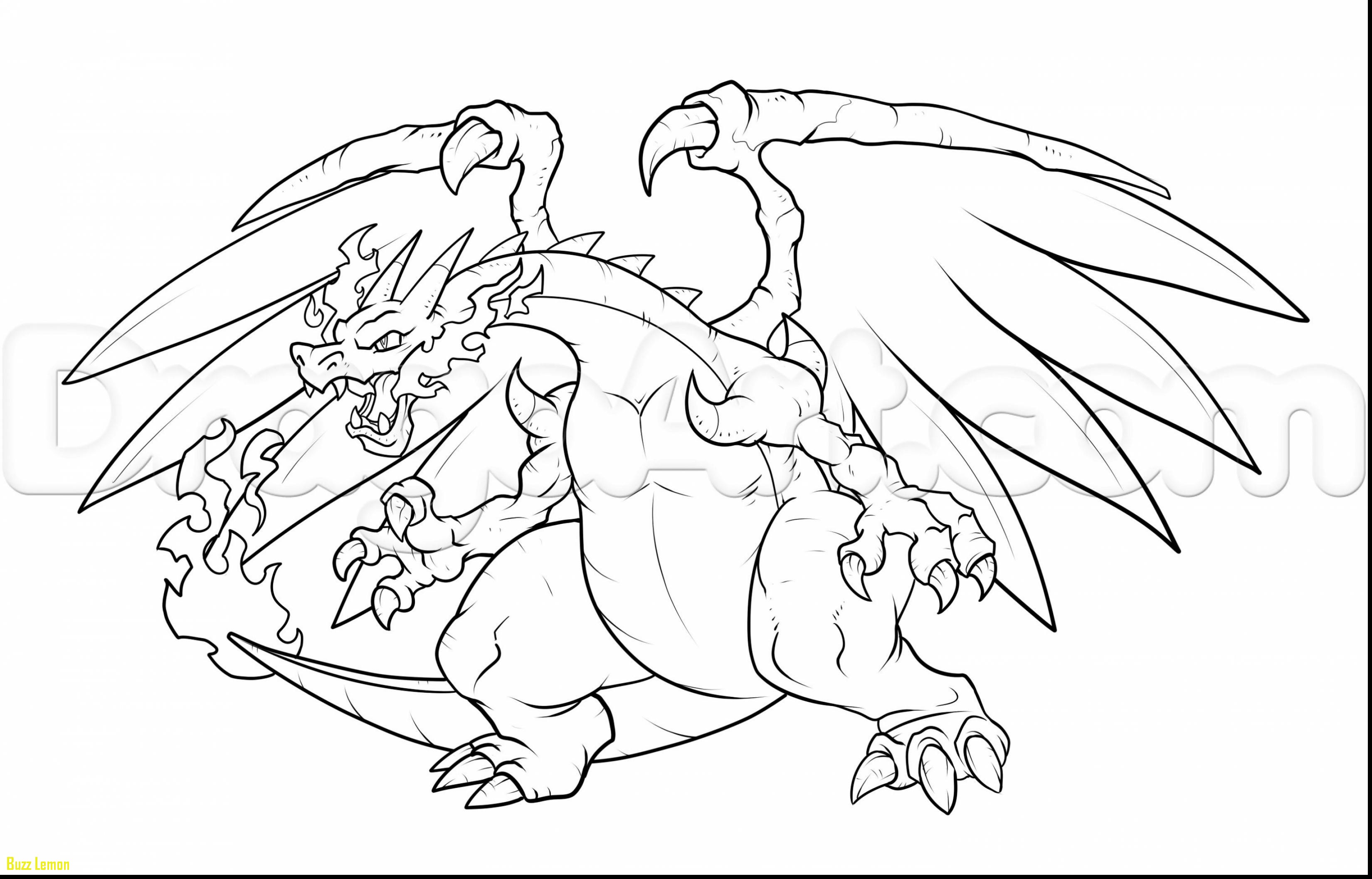 3300x2114 Beautiful Mega Charizard X Coloring Page Buzz Coloring