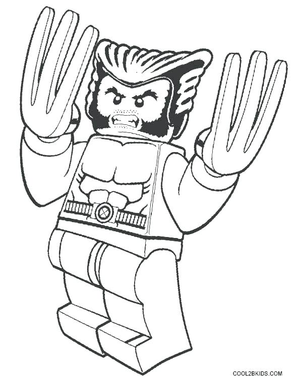 X Men Coloring Pages