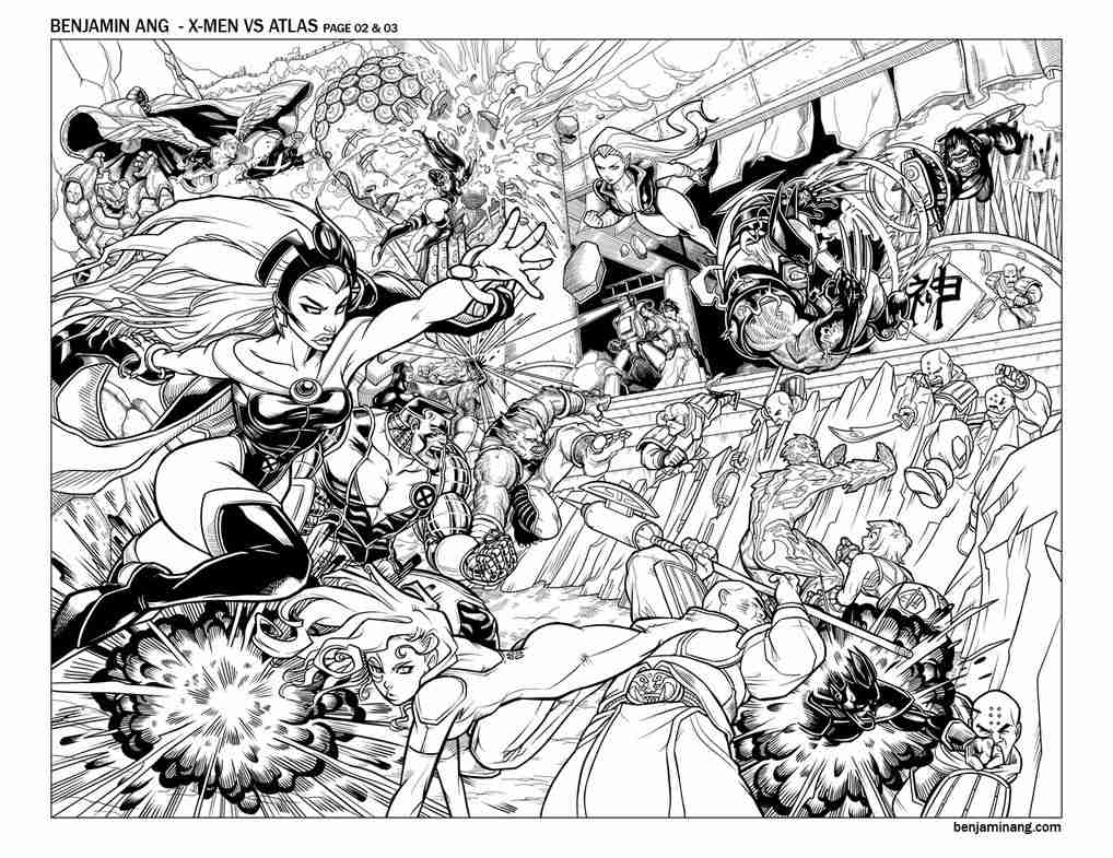 1018x785 X Men Coloring Pages To Download And Print For Free Fancy Xmen