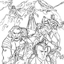 220x220 X Men Coloring Pages