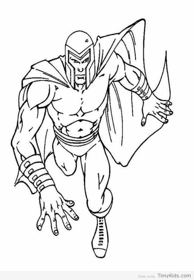 650x940 X Men Coloring Pages Free Timykids
