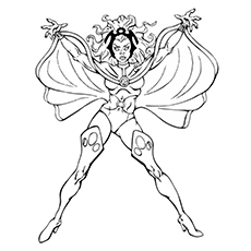 230x230 Top X Men Coloring Pages For Toddlers