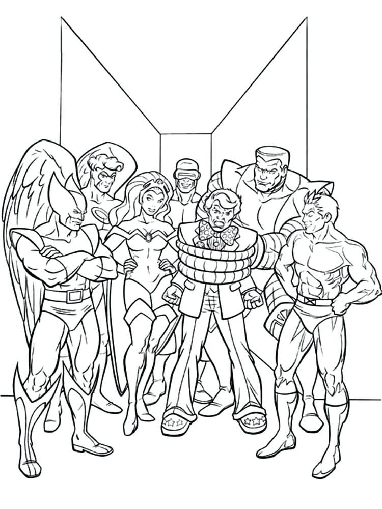 750x1000 X Men Coloring Page Storm Coloring Page X Men Coloring Pages X Men