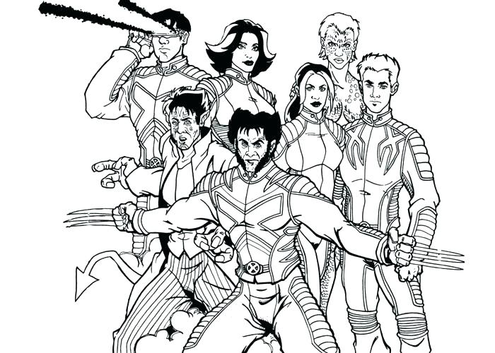 700x500 X Men Coloring Pages Storm Coloring Pages X Men Storm Coloring