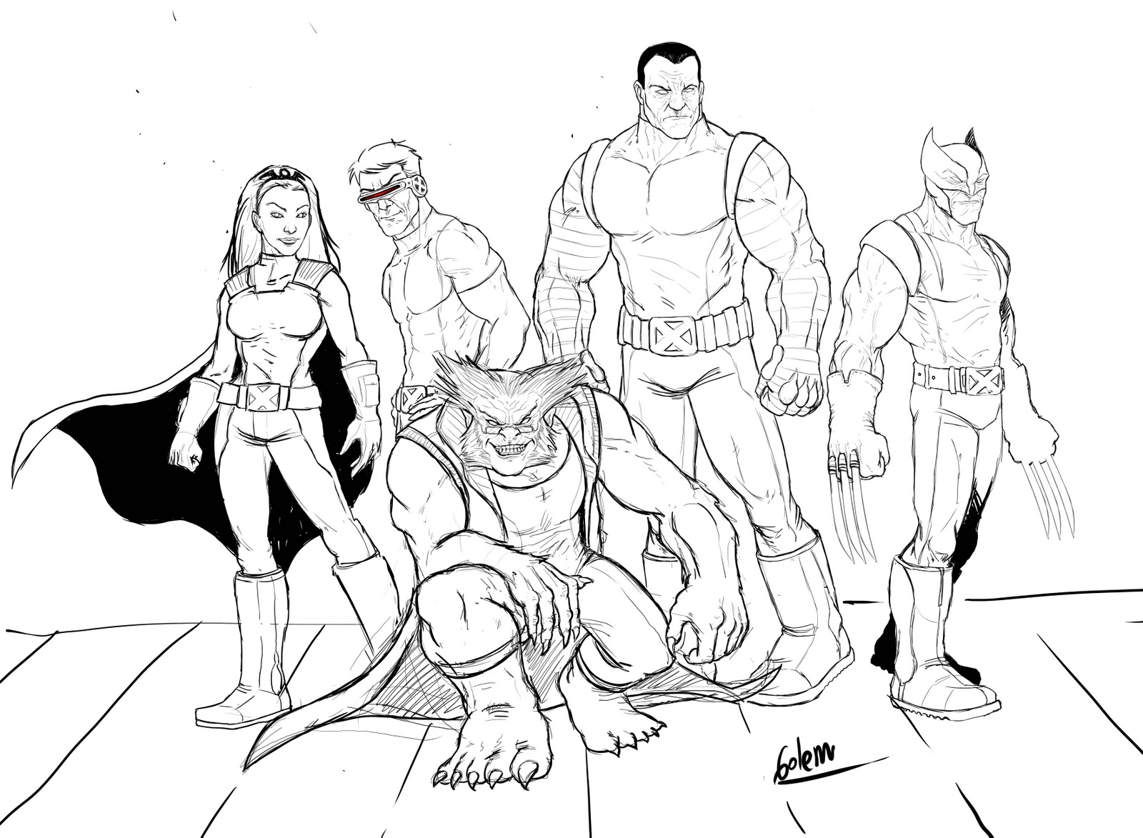 1600x1173 X Men Storm Coloring Pages Gallery Coloring For Kids