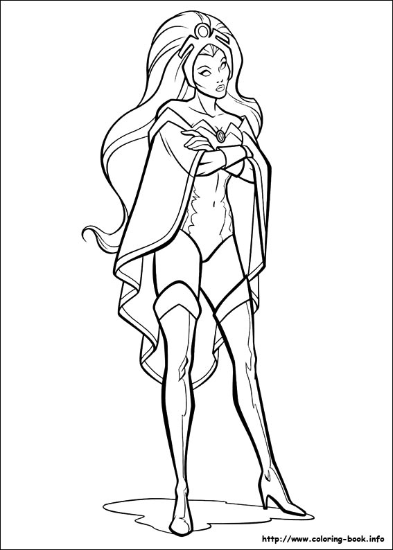 567x794 X Men Coloring Picture Drawing For Embroidery