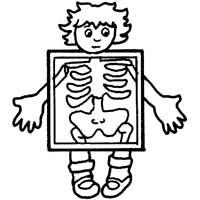 200x200 My X Ray Coloring Pages Surfnetkids