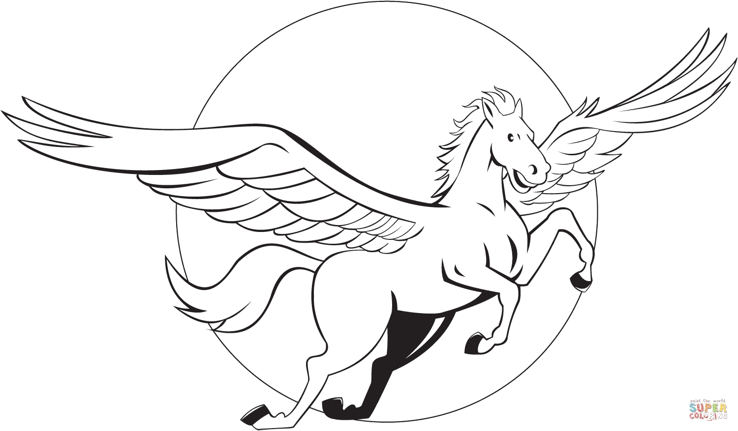 1500x877 Fresh Pegasus Coloring Pages Design Free Coloring Pages