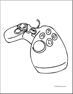 304x392 Video Game Controller Coloring Pages Related Keywords And Tags