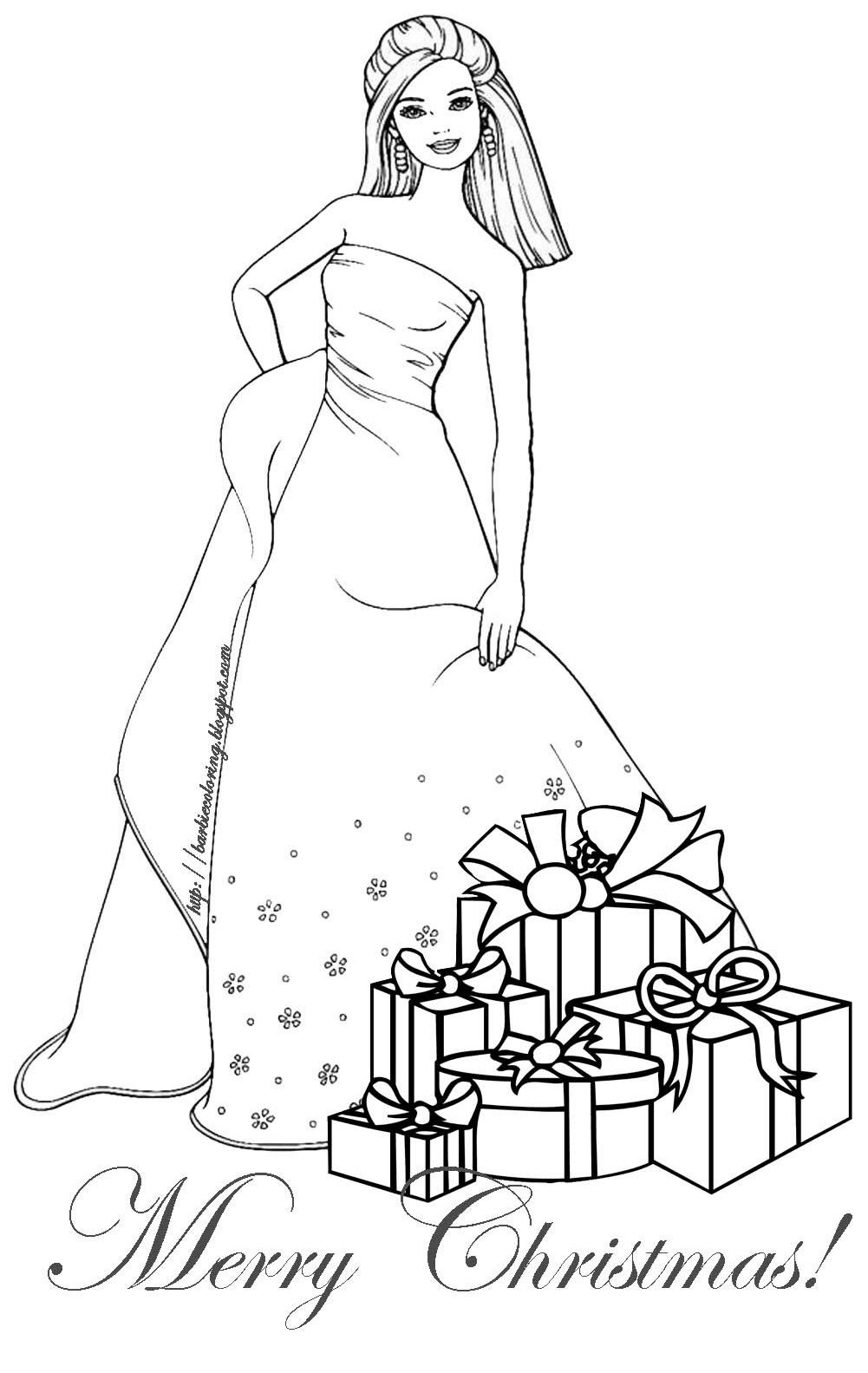 1001x1583 Christmas Coloring Pages