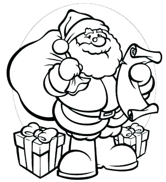 580x638 Santa Coloring Book Image Result For Miss And Coloring Pages Santa