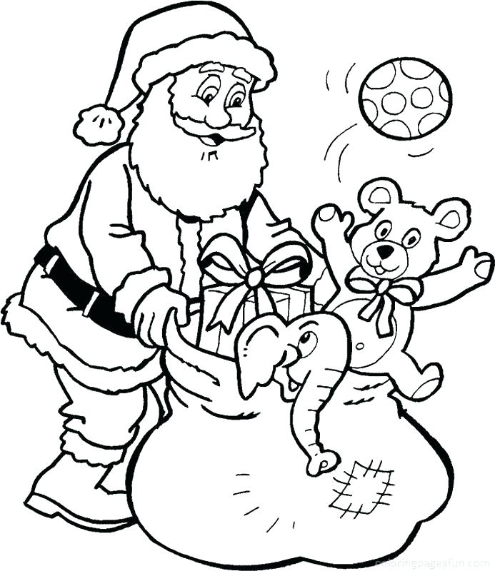Xmas Coloring Pages Printable At GetDrawings Free Download