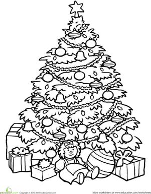 301x385 Christmas Tree Worksheet