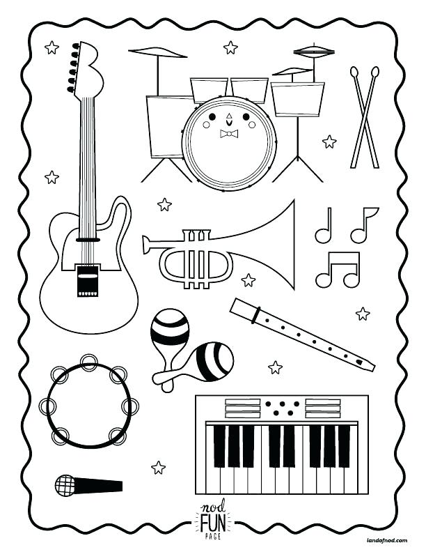 612x792 Xylophone Coloring Page Xylophone Coloring Page Letter X Coloring