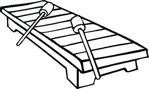 512x306 Xylophone Coloring Pages Cute Coloring Xylophone Coloring Pages