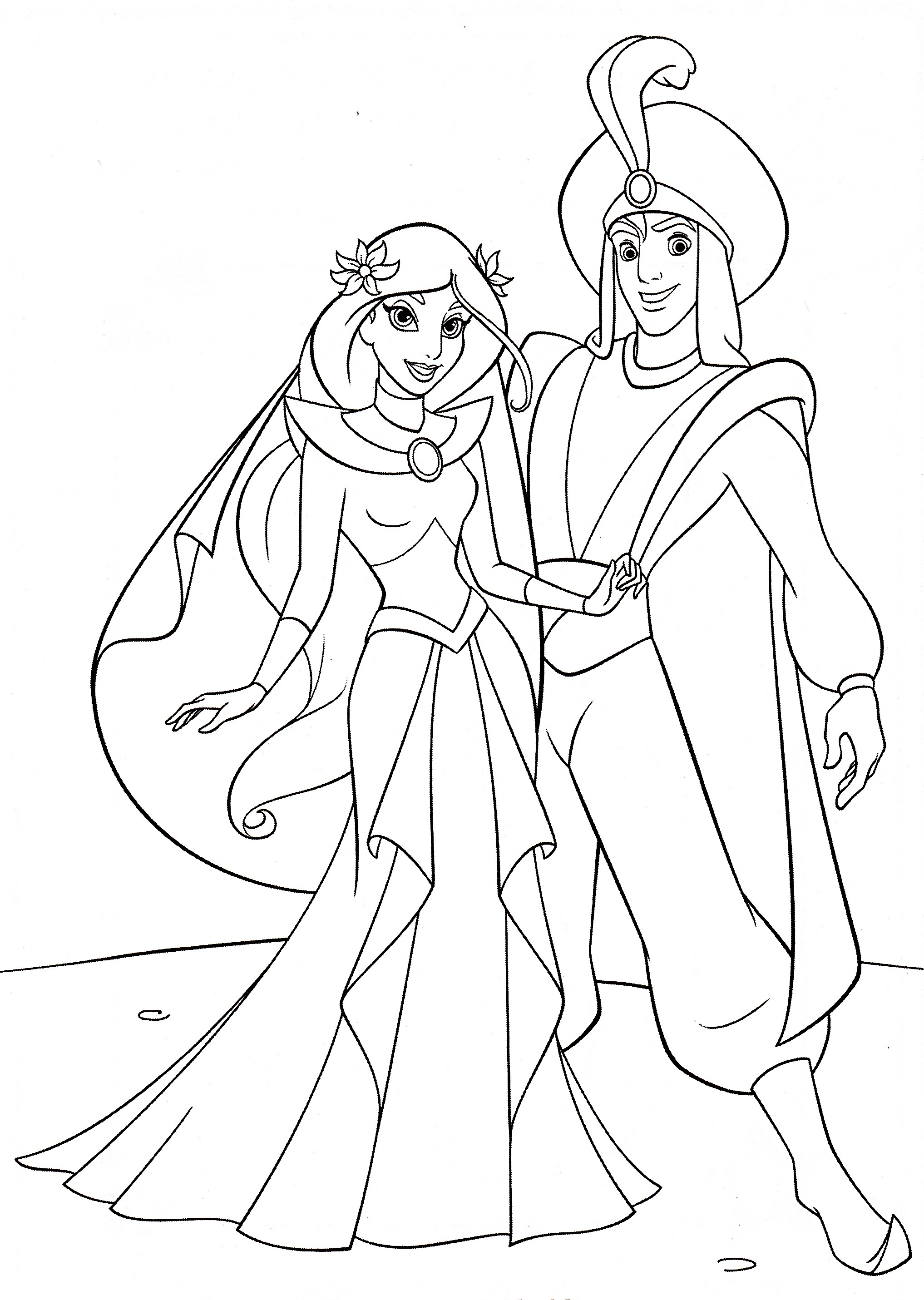 2035x2863 Coloring Pages Disney Aladdin Fresh Coloring Pages Aladdin Yahoo